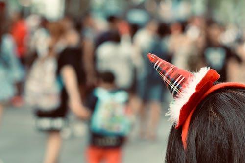 Foto profissional grátis de cartão de natal, chapéu de natal, decoração de Natal, época de Natal