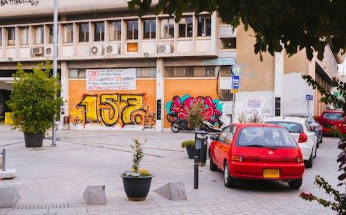 交通系統, 停放的汽車, 城市, 城鎮 的 免费素材照片