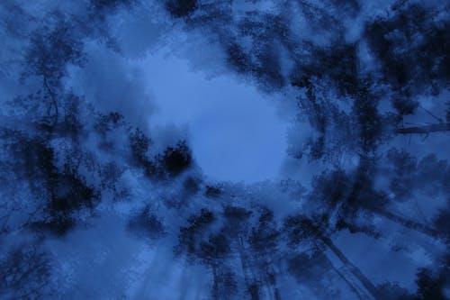 Kostnadsfri bild av blå himmel, bubbelpool, himmel, kväll