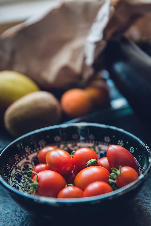 Бесплатное стоковое фото с еда, миска, овощи, помидоры