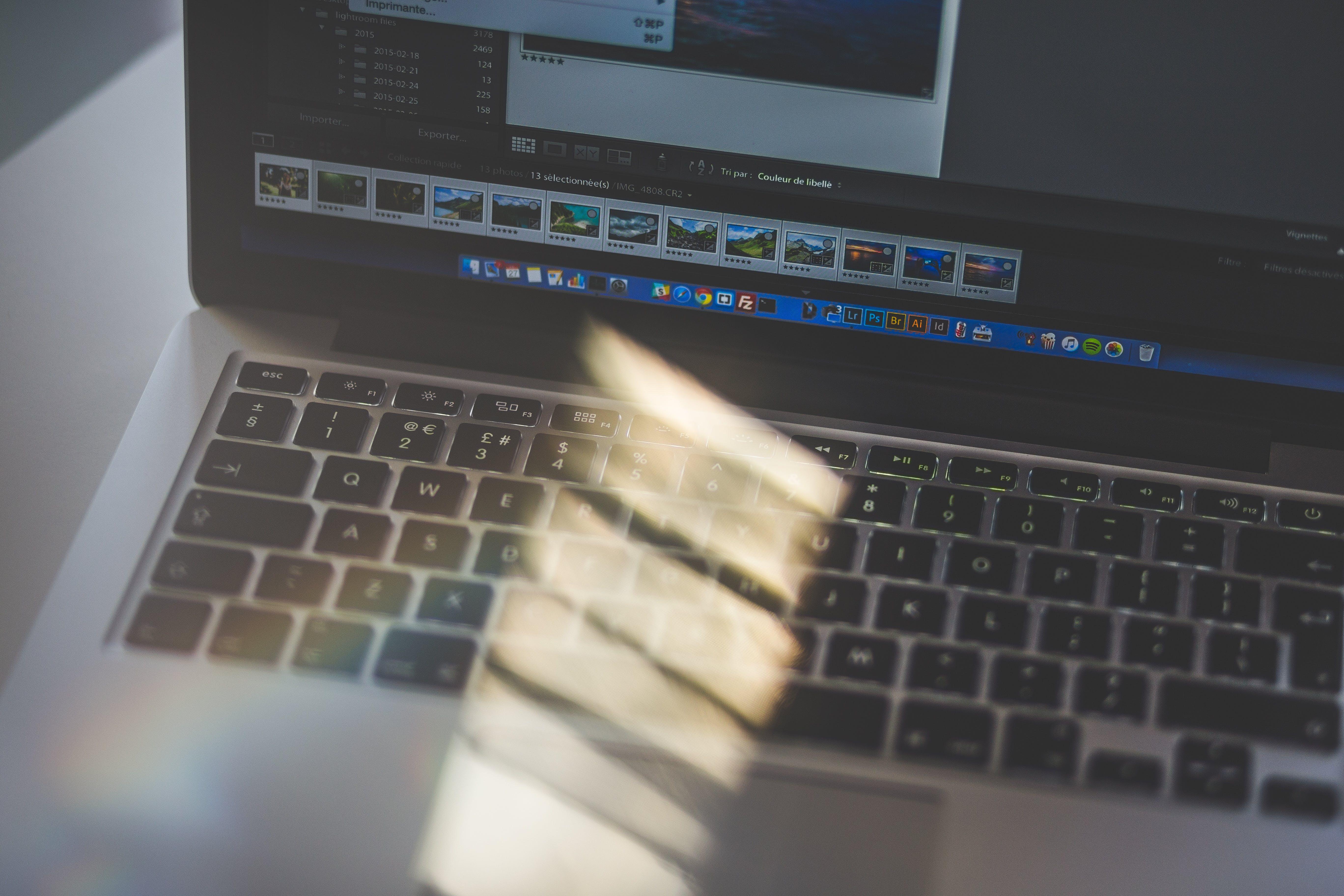 Free stock photo of laptop, macbook pro