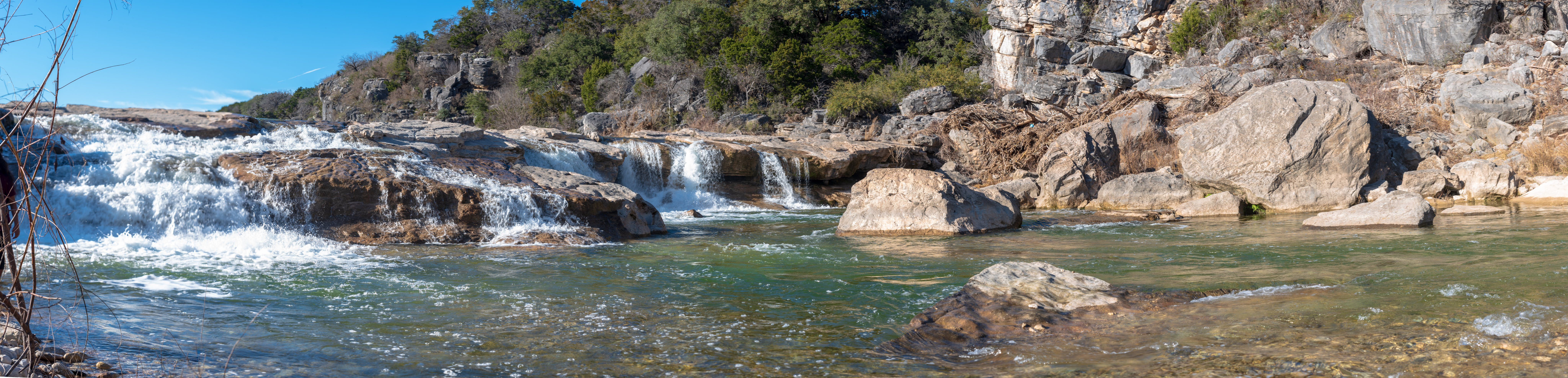 Free stock photo of landscape, Pedernales Falls, water fall