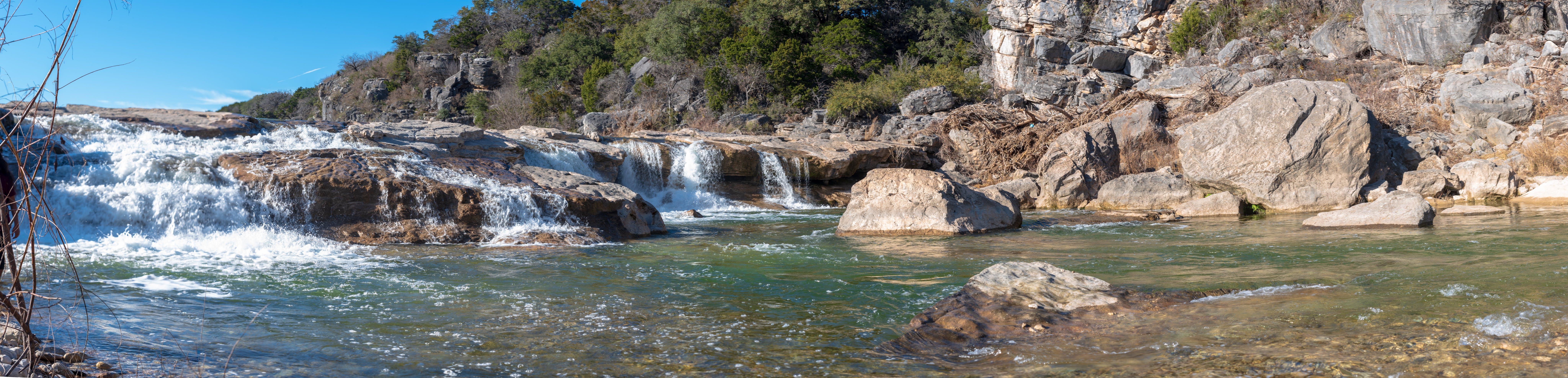 Základová fotografie zdarma na téma krajina, pádu vody, pedernales falls