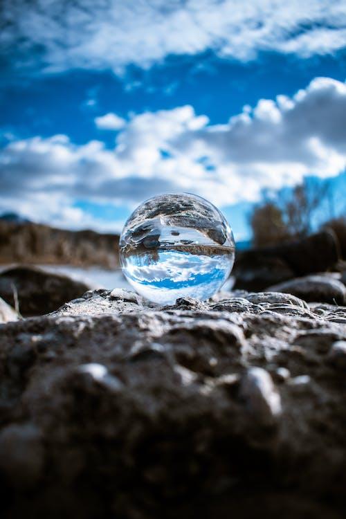 Δωρεάν στοκ φωτογραφιών με Lensball, βράχια, γαλάζιος ουρανός, γραφικός