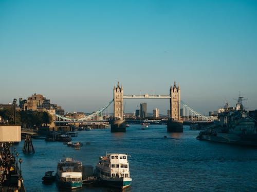 Ingyenes stockfotó belváros, építészet, híd, láthatár témában