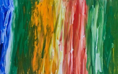 Darmowe zdjęcie z galerii z abstrakcyjne tło, abstrakcyjny ekspresjonizm, abstrakcyjny obraz olejny, akryl