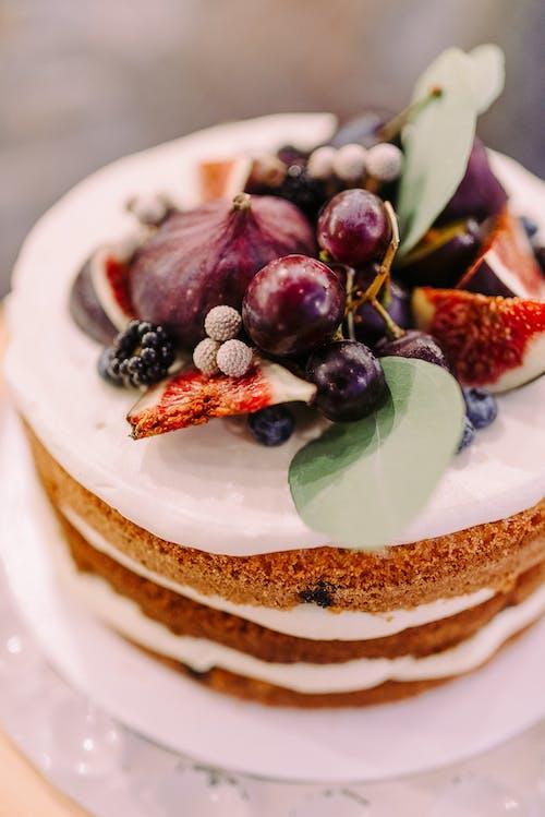 Základová fotografie zdarma na téma dort, jídlo, lahodný, nahý dort
