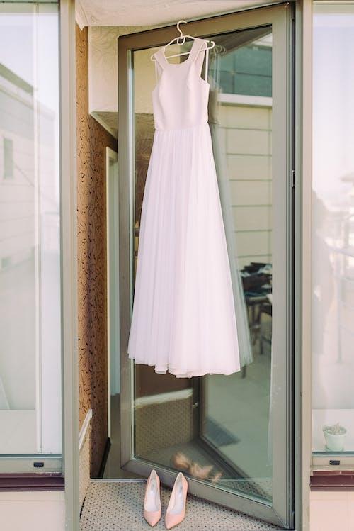 婚禮, 婚紗禮服, 穿著, 穿著打扮 的 免费素材图片