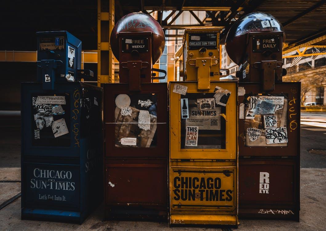 Four Vending Machines