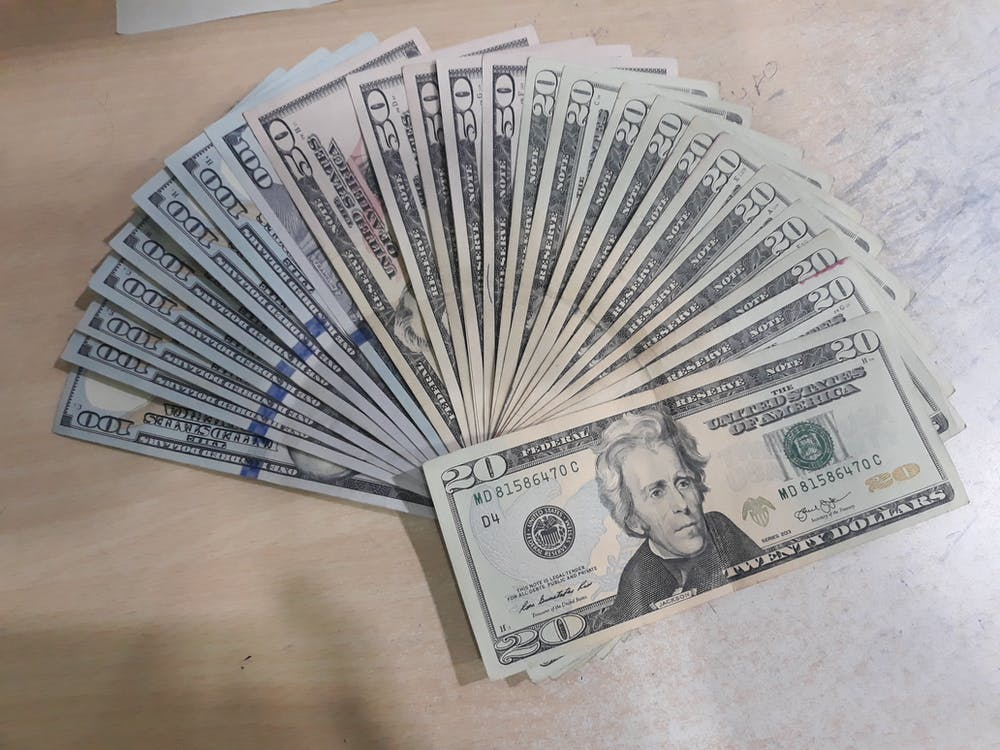 お金, ドル, パイサ