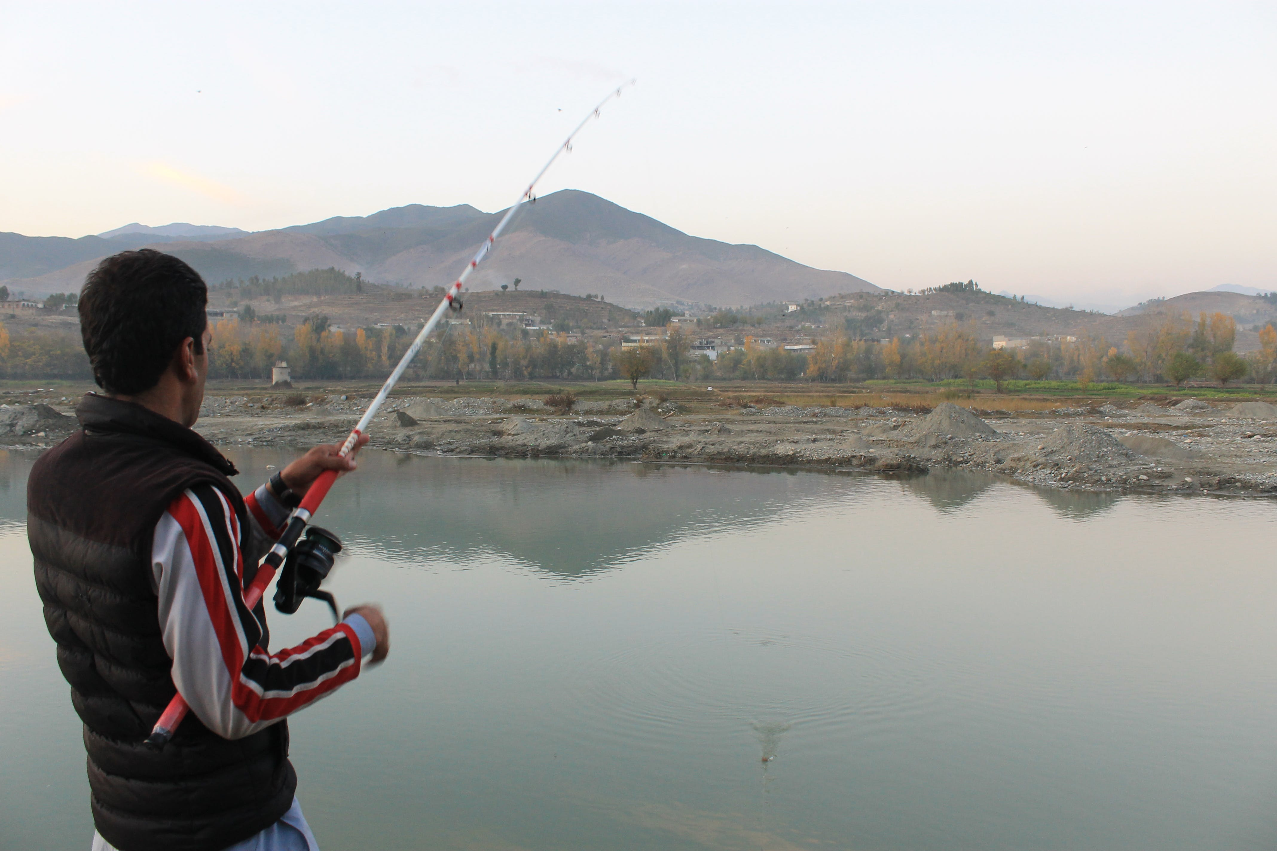 Foto profissional grátis de pescadores
