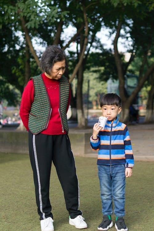 aile, anneanne, aşındırmak, aşınmak içeren Ücretsiz stok fotoğraf