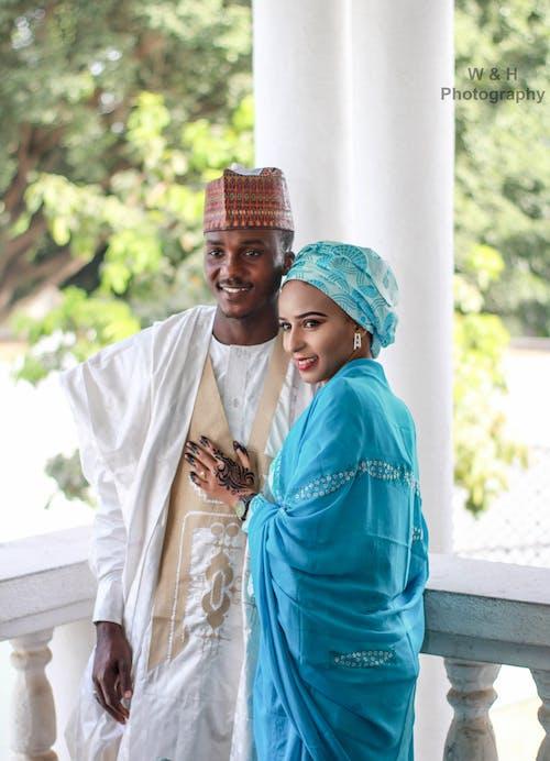 Free stock photo of african, beautiful eyes, Bride and Groom, bridegroom