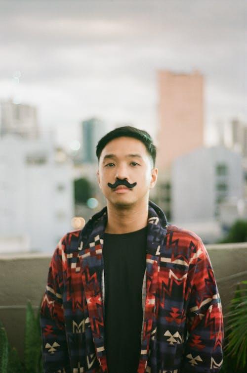 Ingyenes stockfotó áll, ázsiai férfi, bajusz, Férfi témában