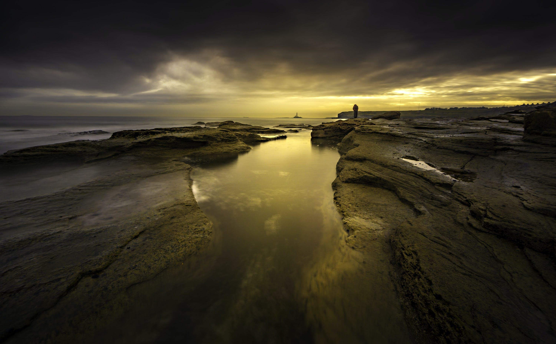 바다, 바다 경치, 새벽, 일몰의 무료 스톡 사진
