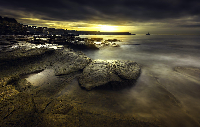 Foto d'estoc gratuïta de alba, capvespre, ennuvolat, mar