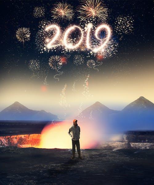 Ilmainen kuvapankkikuva tunnisteilla 2019, 4k taustakuva, abstrakti kuva, droonikuvaus