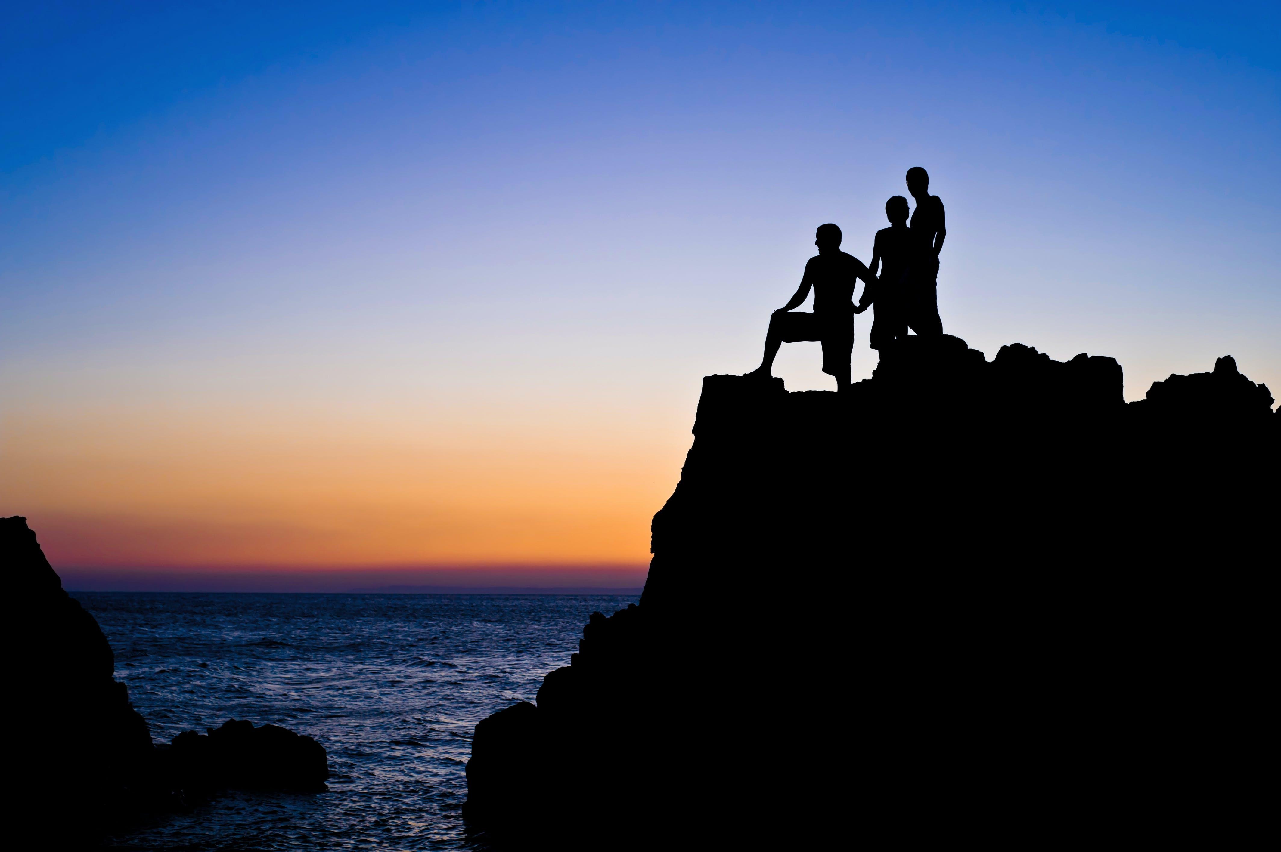 Free stock photo of freedom, people, pose, sea