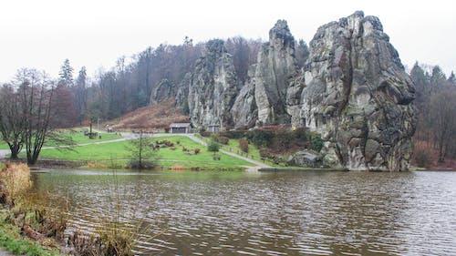Free stock photo of blue water, germany, gravestones, mountain
