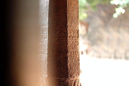 Бесплатное стоковое фото с индия, колонна, махабалипурам, резьба по камню