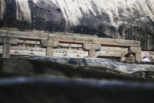 Бесплатное стоковое фото с mandapam, индия, камень, махабалипурам