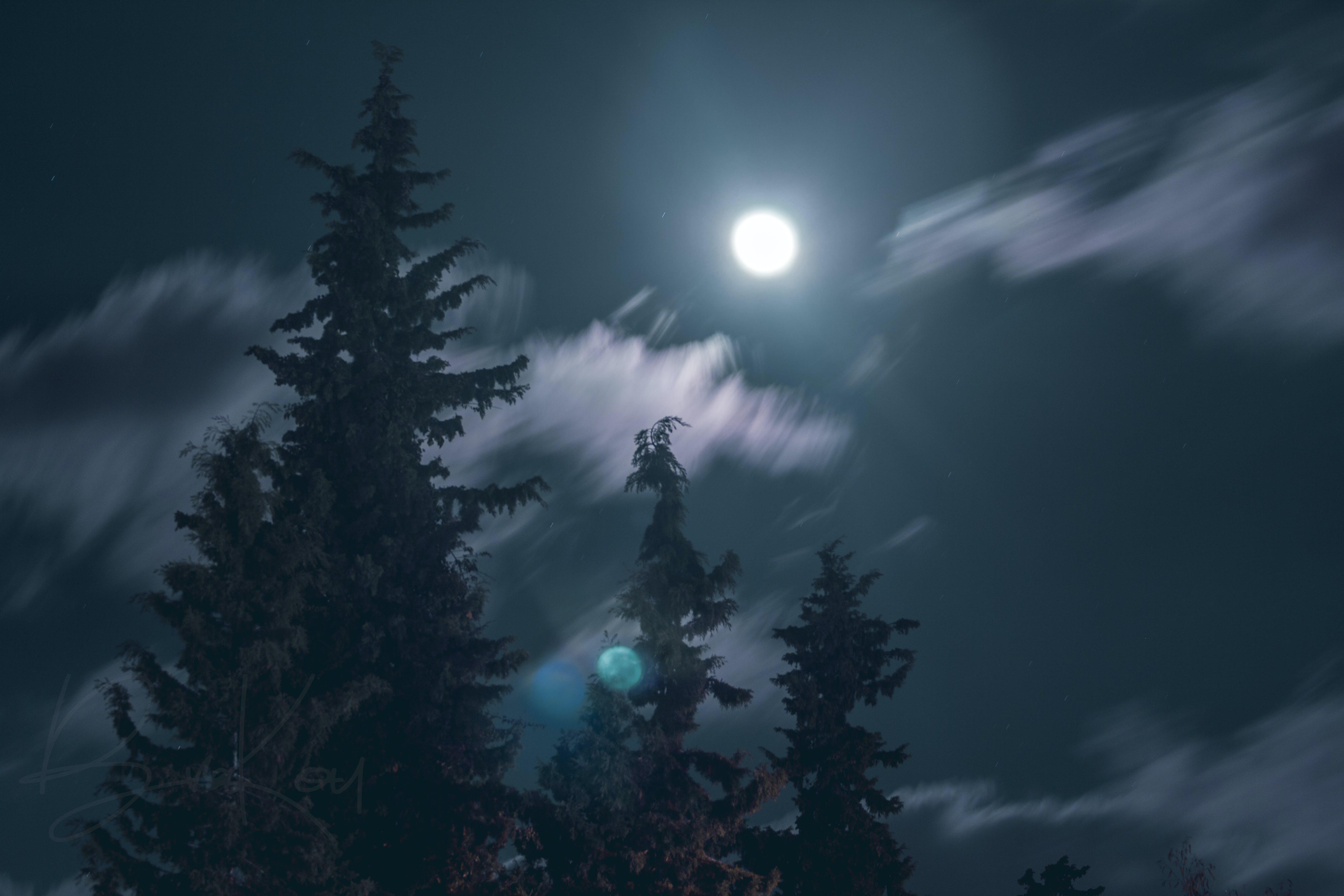 blue sky, cloud, long exposure