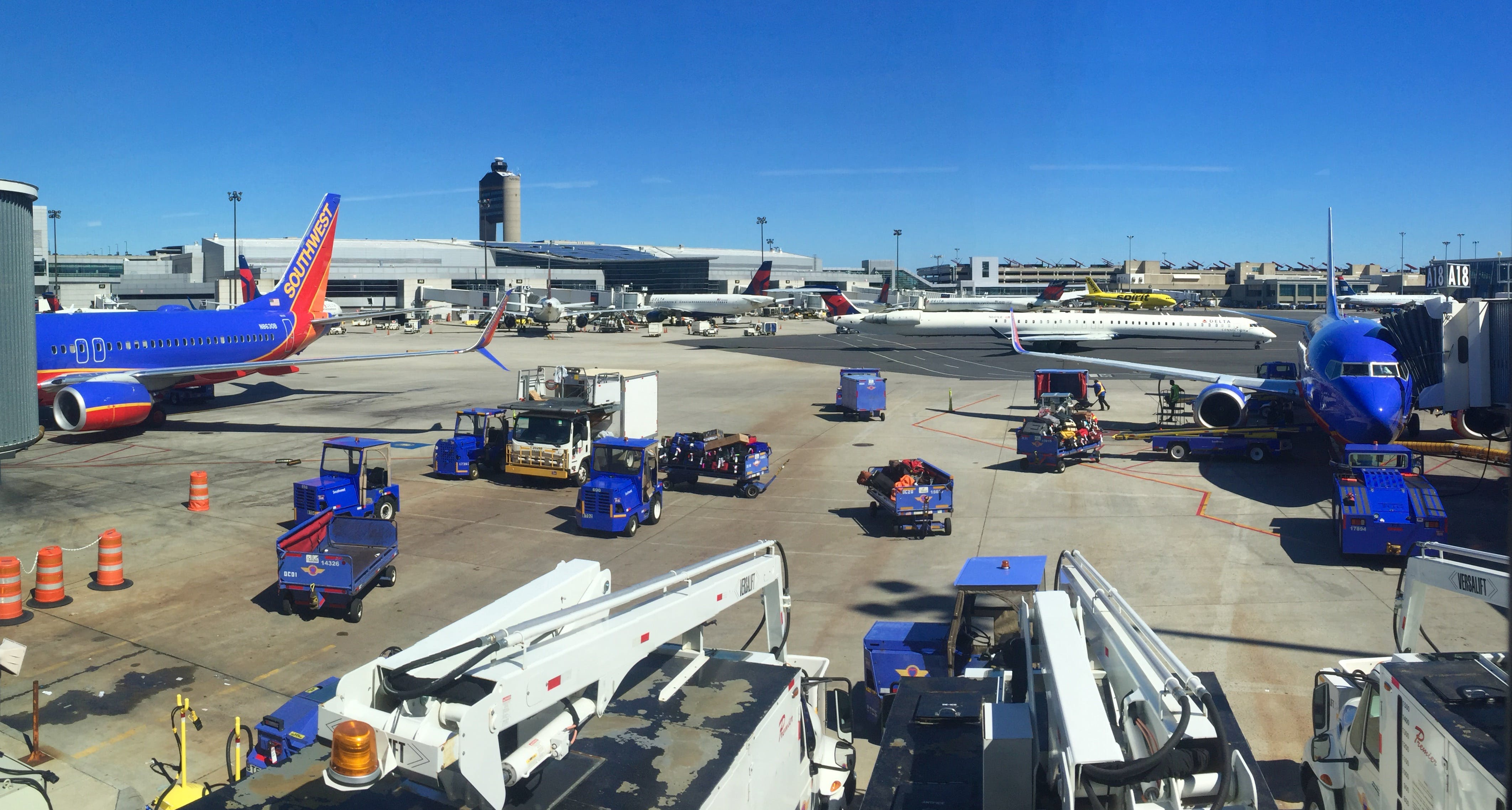 Free stock photo of airport, airplanes