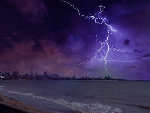 Gratis stockfoto met bliksem, bliksemflits, donder, hemel