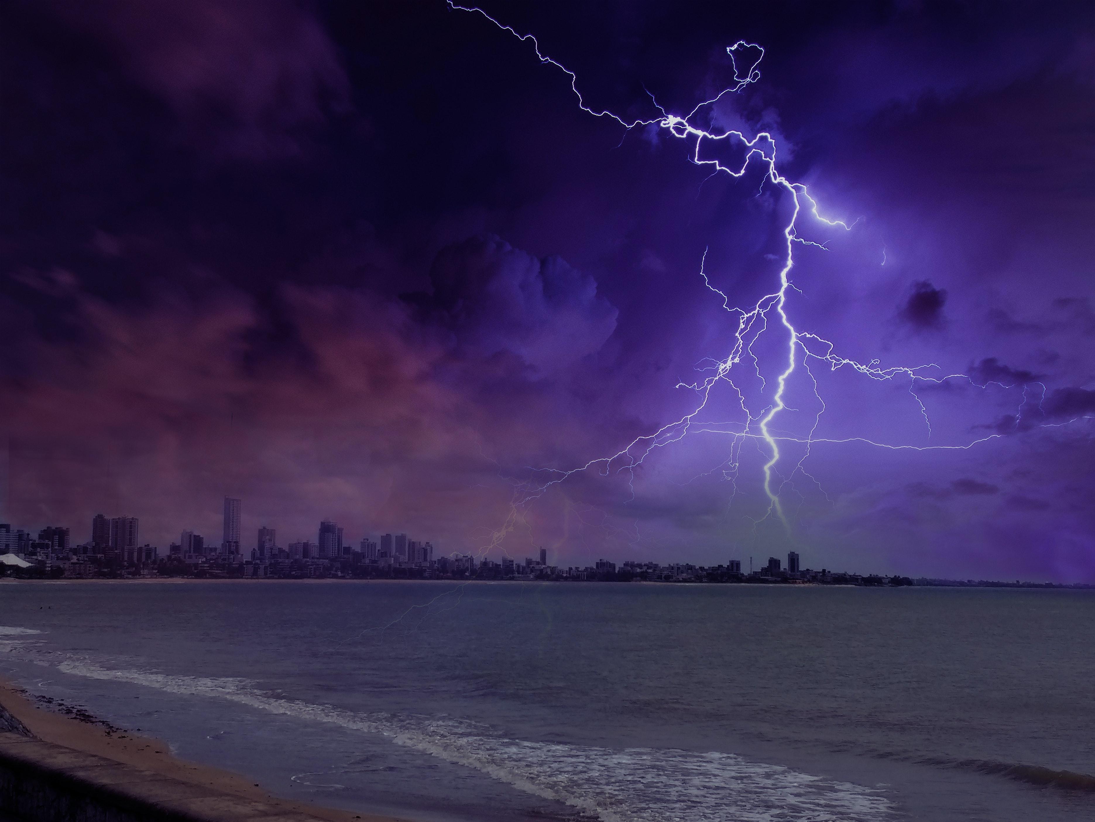 50 beautiful lightning photos pexels free stock photos - Lightning wallpaper 4k ...