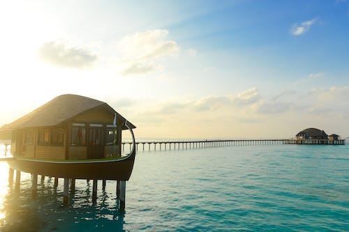 Gratis stockfoto met cabine, hotel, oceaan, resort