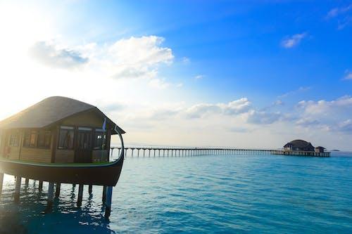Imagine de stoc gratuită din cocioabă, lumina zilei, mare, ocean