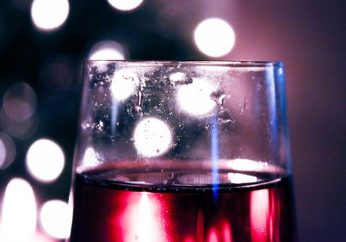 Free stock photo of christmas, cocktail, sparkling wine, stained glass