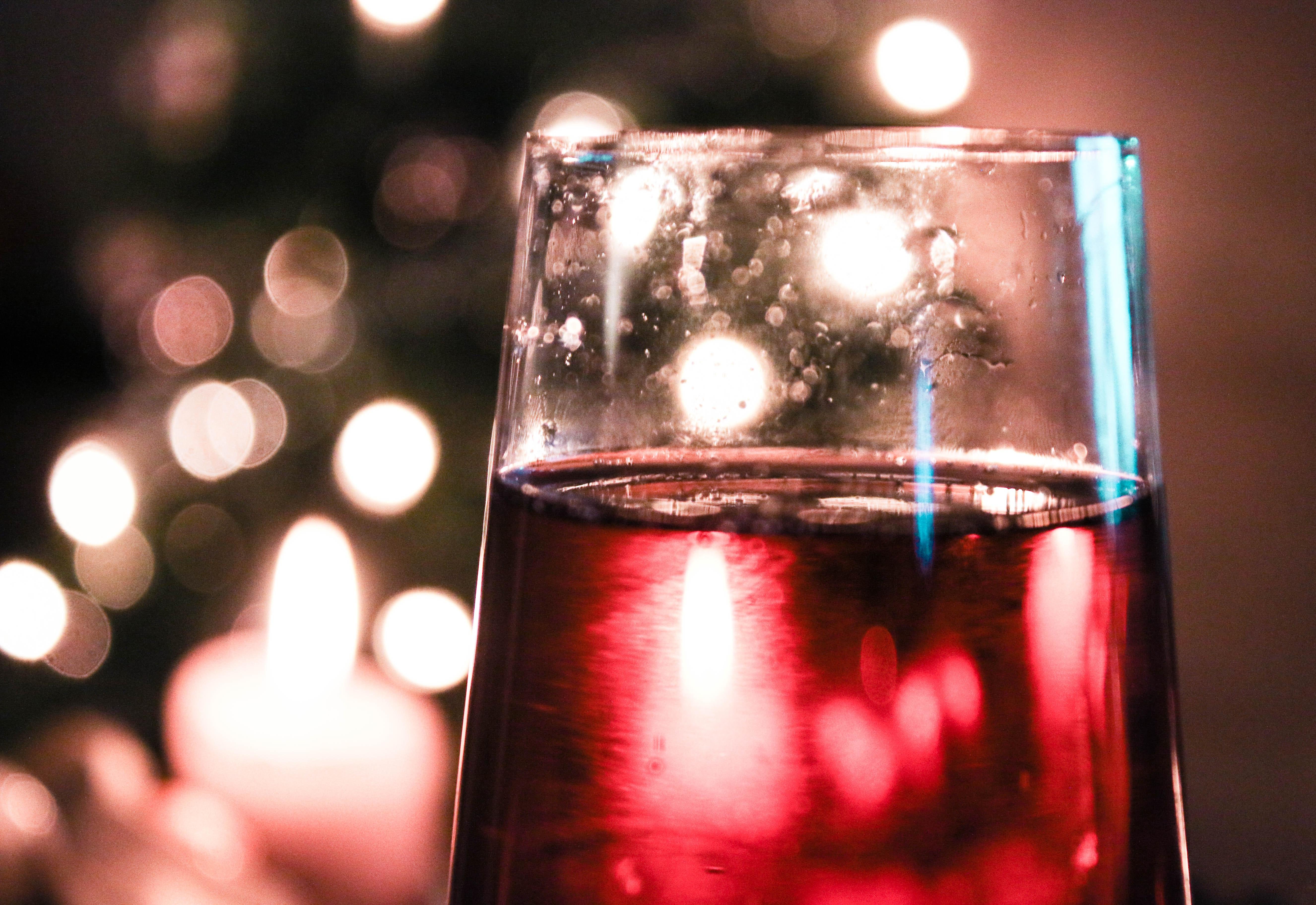 Free stock photo of christmas, christmas balls, cocktail glass