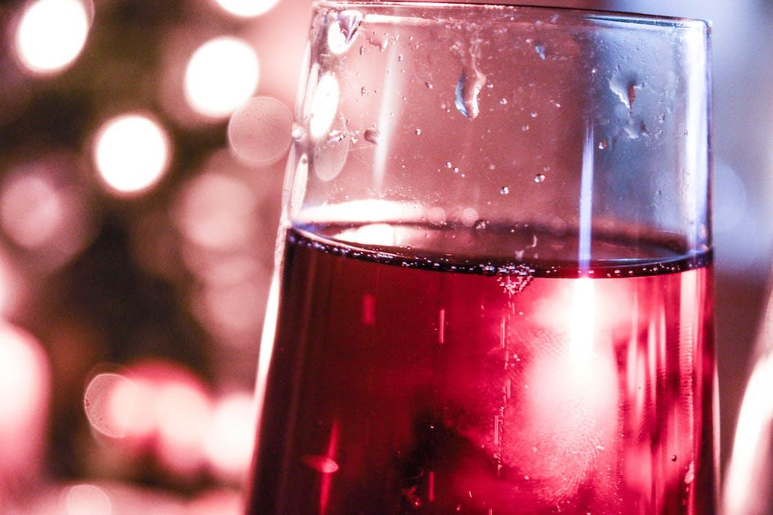 champagne glass, christmas