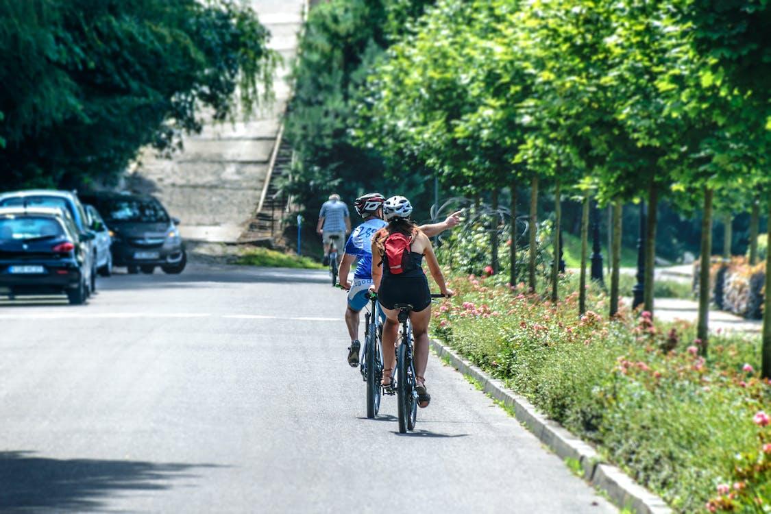 aktivitas, berkuda, bersepeda