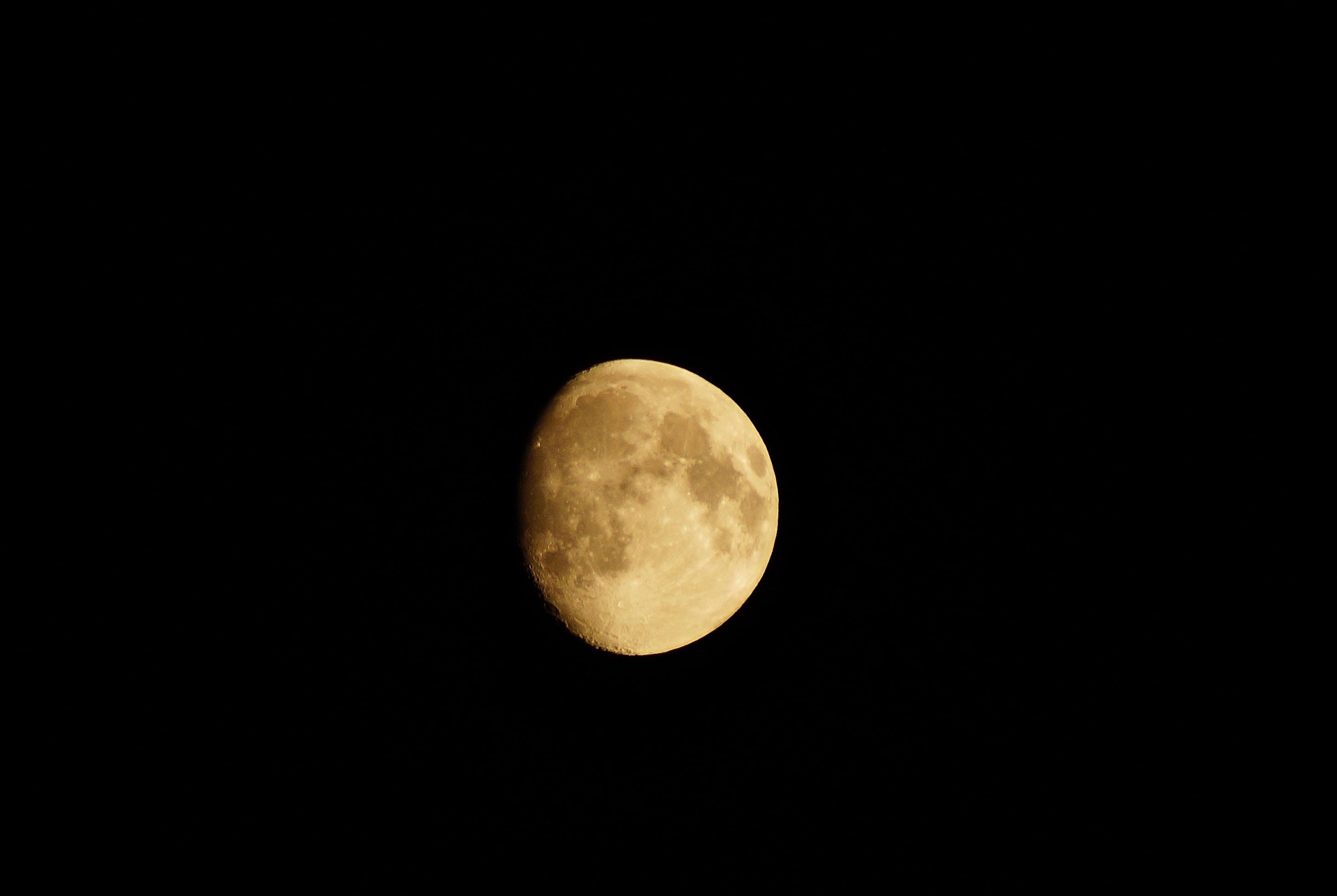 Free stock photo of space, dark, moon, science