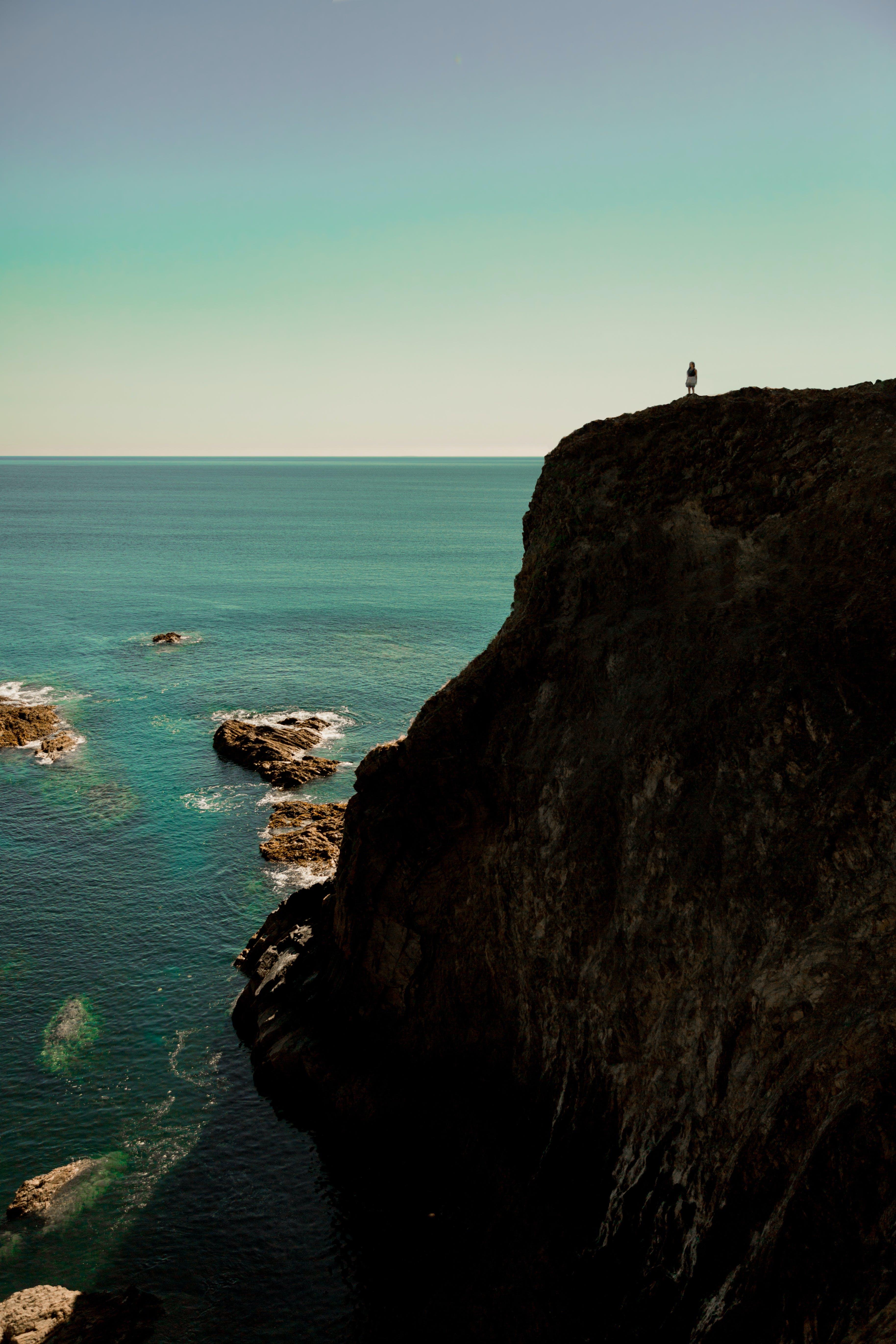 Free stock photo of cliff, overlook