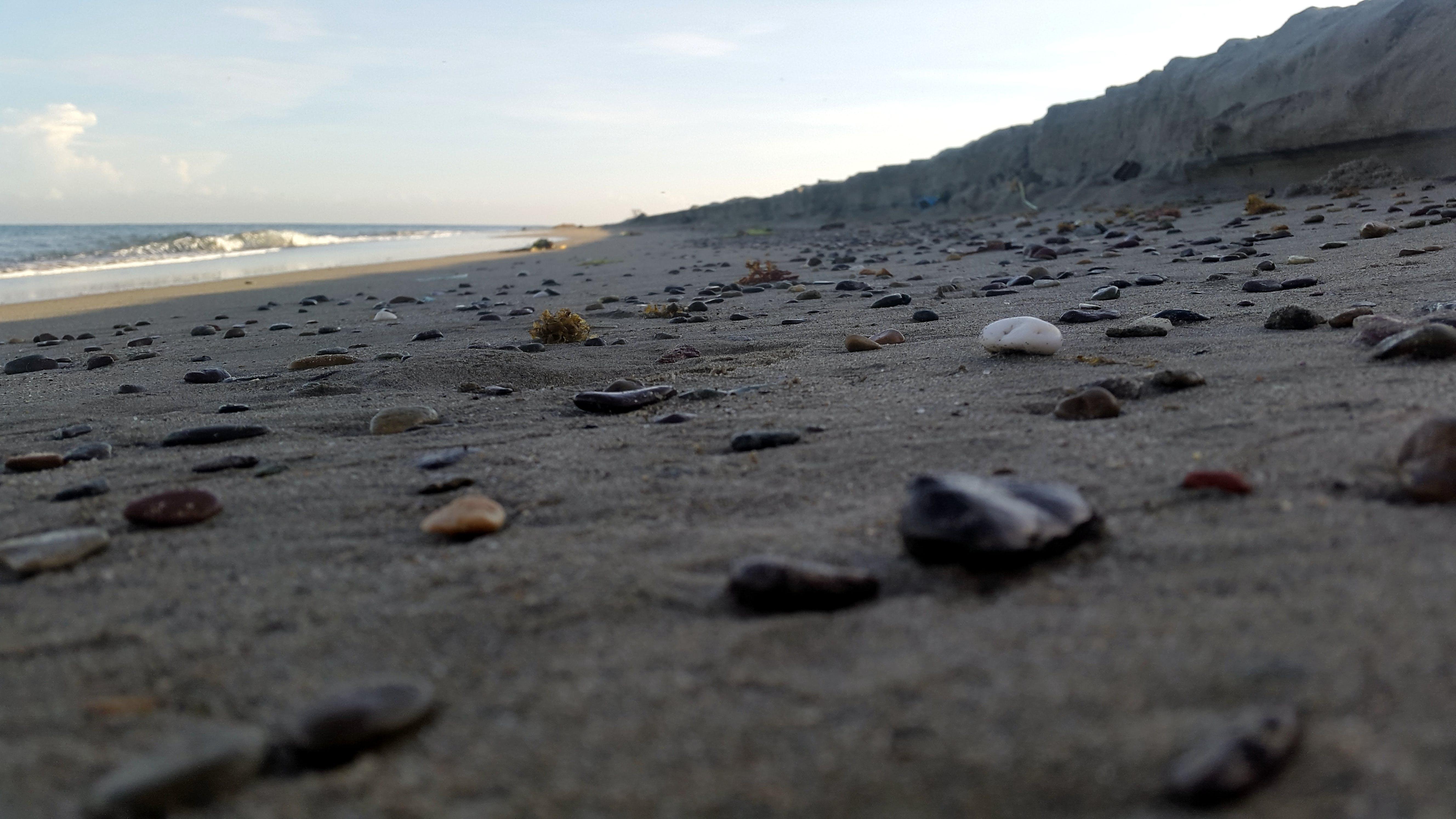 Free stock photo of beach, dawn, honduras, rocks