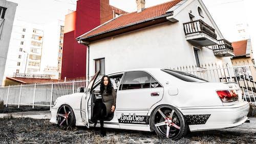 Free stock photo of asian female, car, toyota