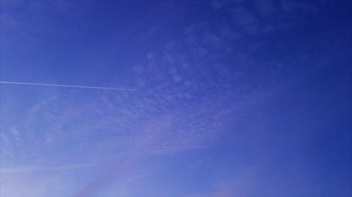 Free stock photo of blue sky, condensation trails, jet plane, open skies
