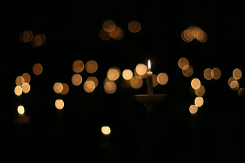 Free stock photo of candlelight, christmas eve
