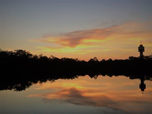 คลังภาพถ่ายฟรี ของ ตะวันตกดิน, ตะวันลับฟ้า, พระอาทิตย์ตก