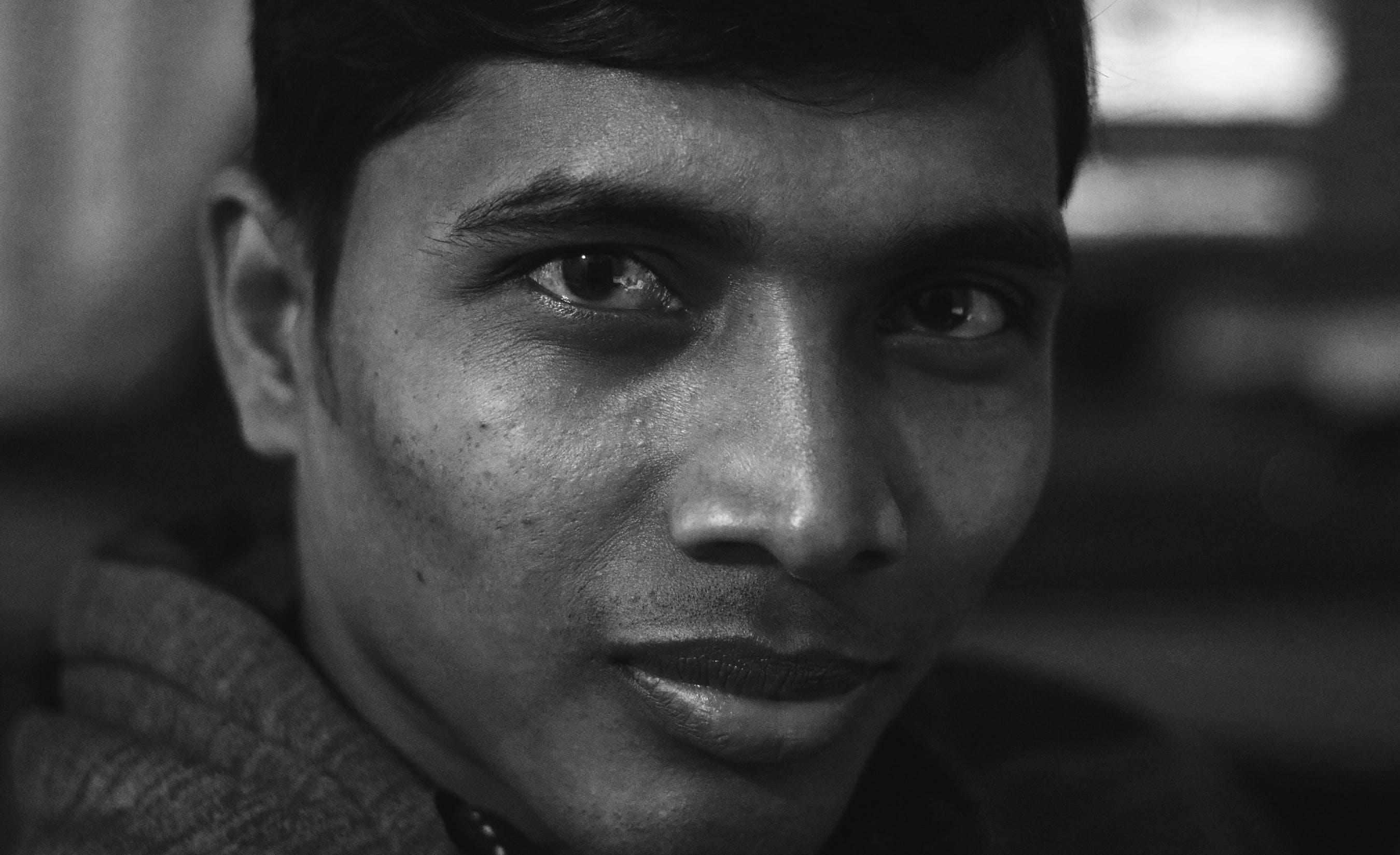 Free stock photo of angry, black, blur, dark