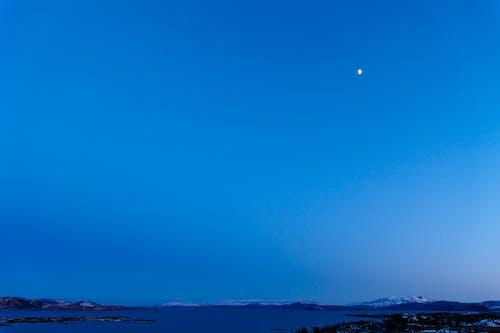 Δωρεάν στοκ φωτογραφιών με ημισέληνος, μισοφέγγαρο, μπλε, Νύχτα