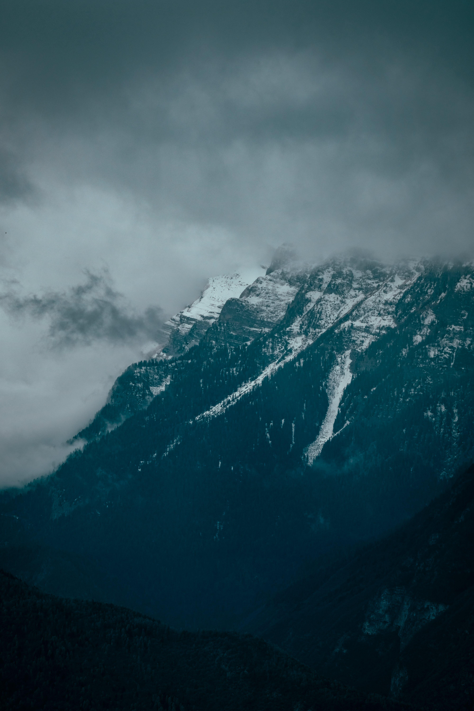 Immagine gratuita di montagna, montagna rocciosa, natura, neve