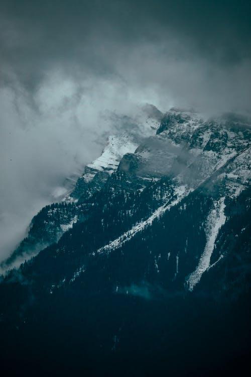 Gratis stockfoto met berg, kou, landschap, mist
