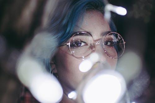 Photos gratuites de 35mm, bleu, brouiller, cheveux bleus