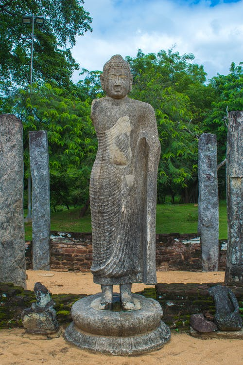 Základová fotografie zdarma na téma socha buddhy