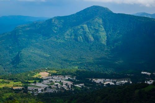 Základová fotografie zdarma na téma hory, paddy pole