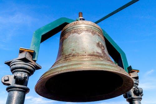 奥古斯塔街弧, 藍天, 里斯本, 鐘 的 免费素材照片
